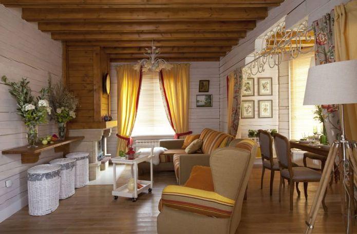 stue i hus i Provence-stil