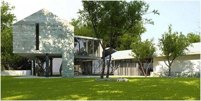 Projekt domu dwukondygnacyjnego
