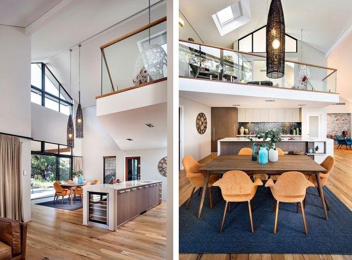 design et intérieur d'une maison de campagne
