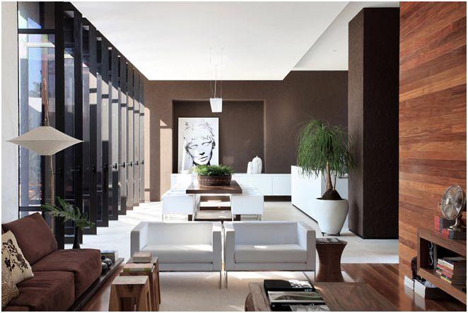 Projekt wnętrza domu prywatnego