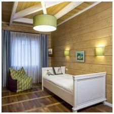 Дизайн интерьера деревянного дома из бруса от Nasonov DesignWerke-1