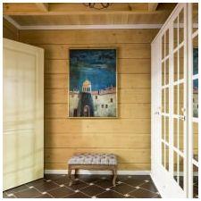 Дизайн интерьера деревянного дома из бруса от Nasonov DesignWerke-4