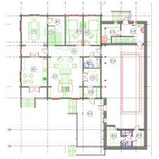 Дизайн интерьера деревянного дома из бруса от Nasonov DesignWerke-7