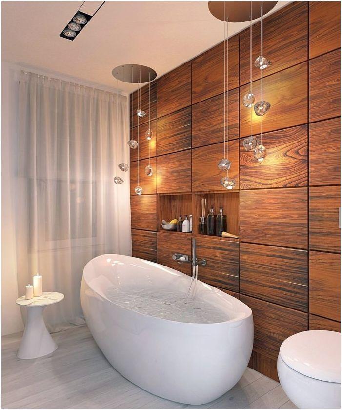 красив интериор в банята