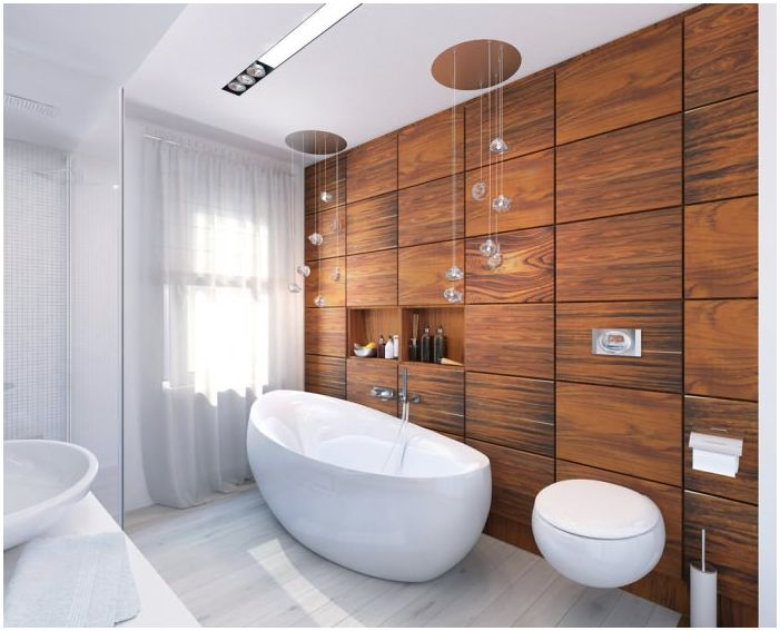 дизайн на баня 8 кв. м.