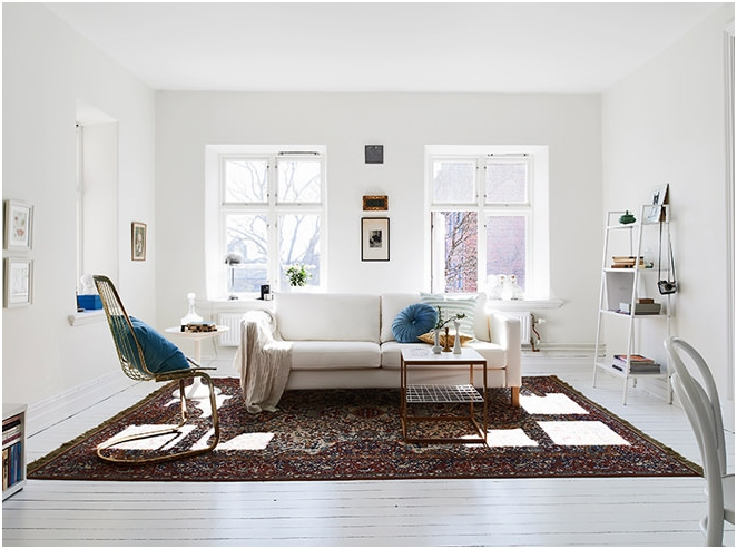 Skandináv stílusú apartman kialakítása