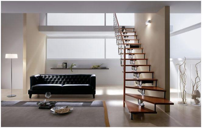 Дизайн на стълбища в частна къща