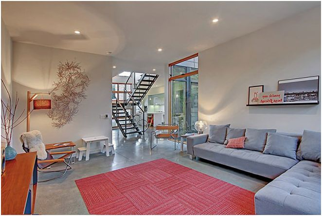 Дизайн небольшого дома в Сиэтле