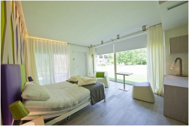 Дизайн небольшого одноэтажного дома от Di Architettura Daniele Menichini