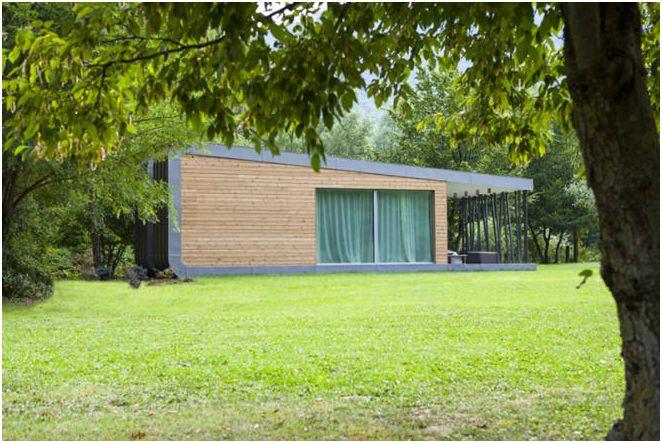фото небольшого частного дома