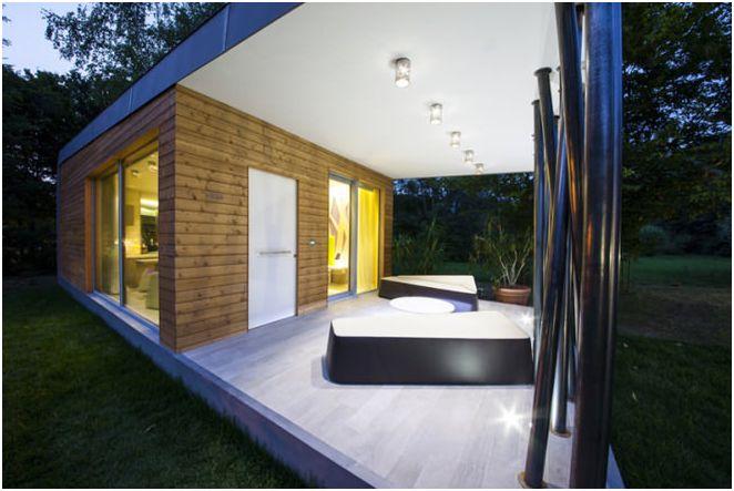 небольшого одноэтажного дома