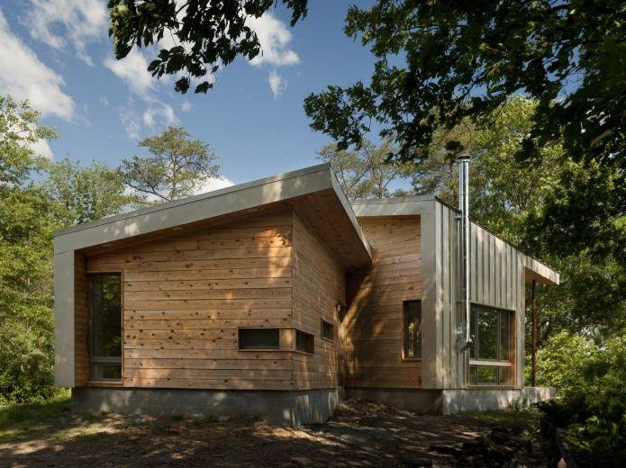 Дизайн небольшого жилого дома в США