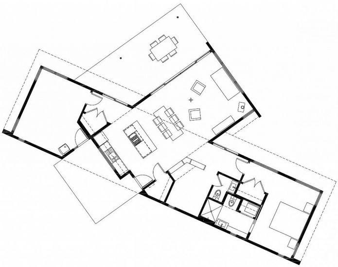 планировка небольшого жилого дома