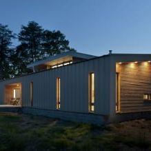 Дизайн небольшого жилого дома в США-14