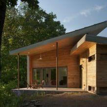 Дизайн небольшого жилого дома в США-5