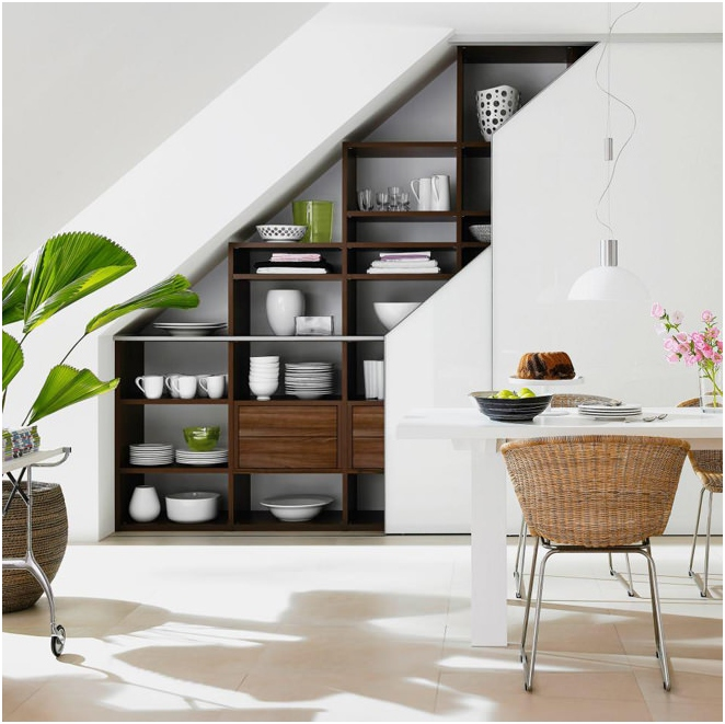 дизайн под стълбите