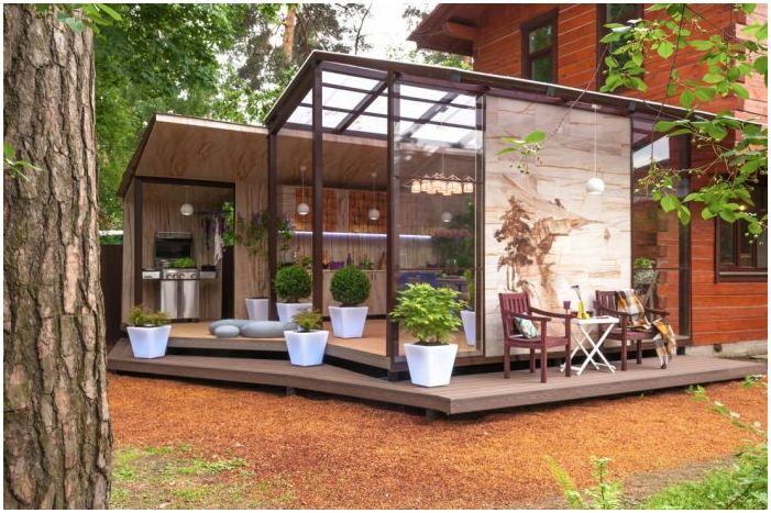 Дизайн на вътрешен двор