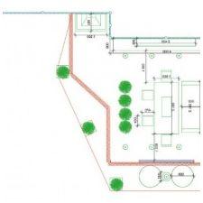 Тераса дизайн в частна къща в района на Москва-1