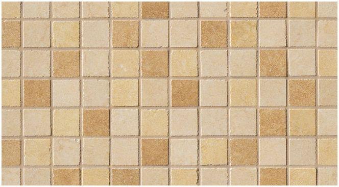 мозайка в дизайна на банята