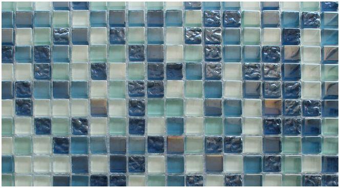 дизайн на баня с мозайки