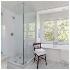 Дизайн ванной комнаты в белых тонах: особенности, фото-1