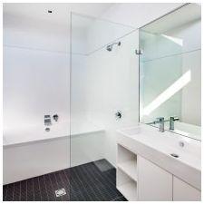 Дизайн ванной комнаты в белых тонах: особенности, фото-2