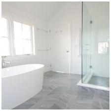 Дизайн ванной комнаты в белых тонах: особенности, фото-3