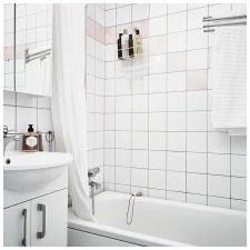 Дизайн на баня в бели цветове: функции, снимка-5