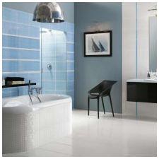 Дизайн на баня в сини тонове-1
