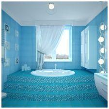 Дизайн на баня в сини тонове-5