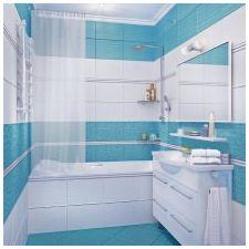Дизайн на баня в сини тонове-6