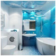 Дизайн на баня в сини тонове-8