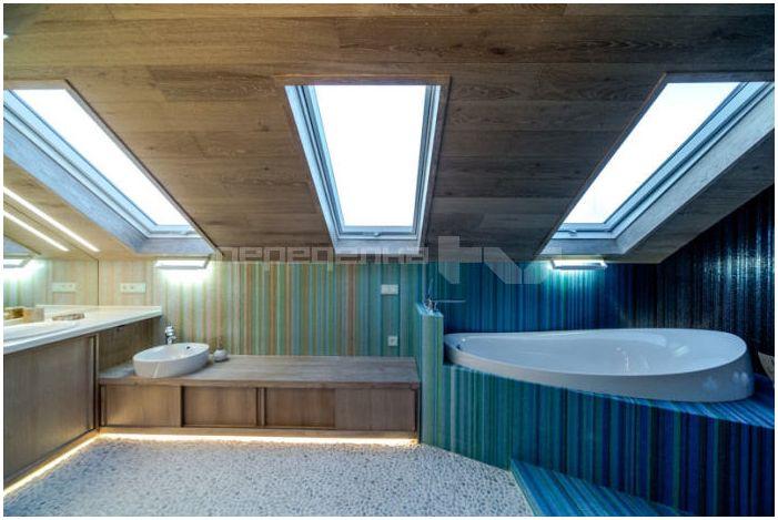 баня на тавана