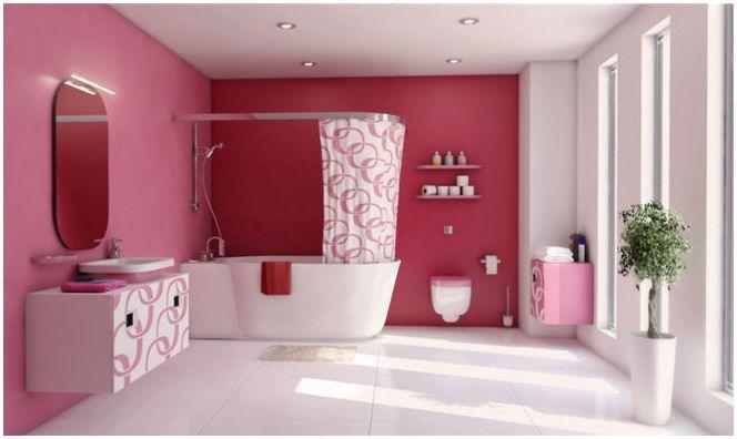 баня розова