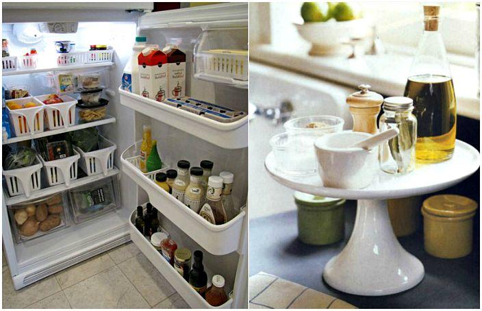 Замечательные идеи, которые помогут навести порядок на кухне.