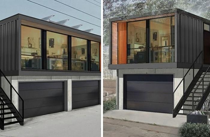 Opcje instalacji domu z kontenerów.