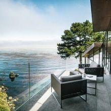 Къща на скала с изглед към океана-11