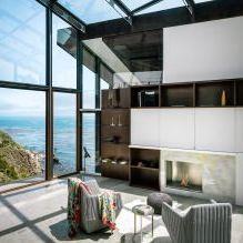 Къща на скала с изглед към океана-13
