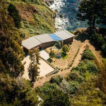 Къща на скала с изглед към океана-2