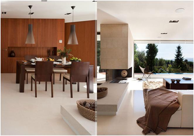 Къща с панорамни прозорци в Испания