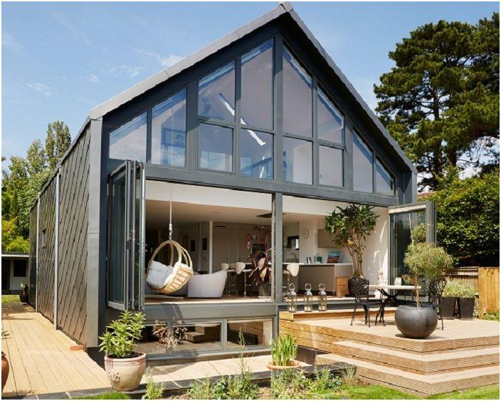 Къща на амфибиите във Великобритания.