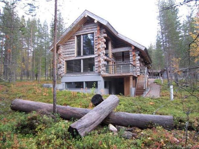 къщи от мъртъв бор
