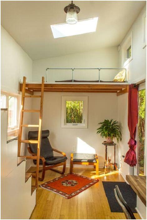 Hikari Boх - домик площадью всего 17 кв. метров.