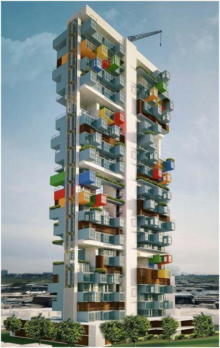Projekt biura architektonicznego Ganti + Associates Design.