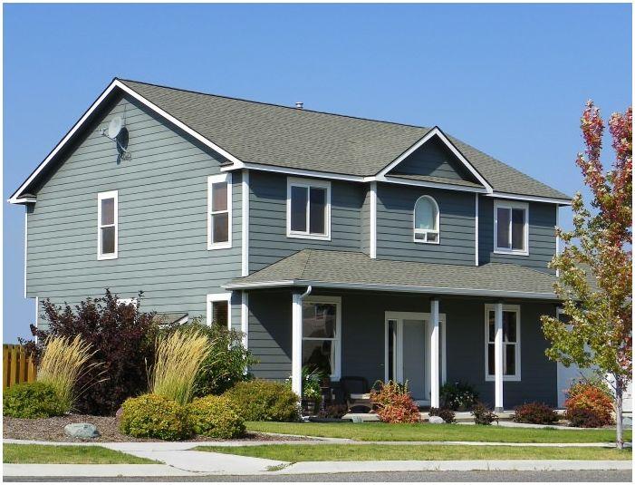 Фасади на сайдинг къщи: функции, снимки