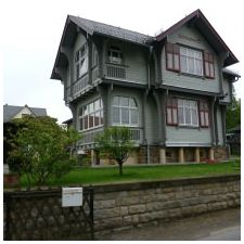 Фасади на сайдинг къщи: функции, снимка-1