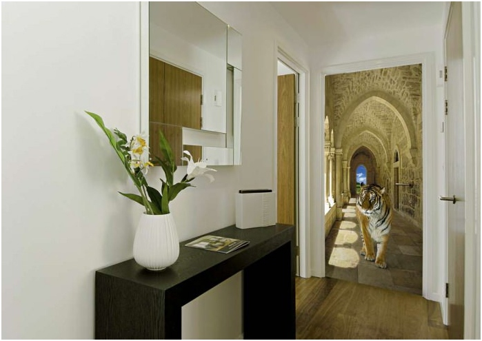 Фото тапет в коридора