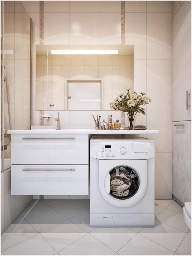 място за пералня
