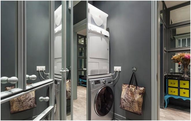 salle de machine à laver