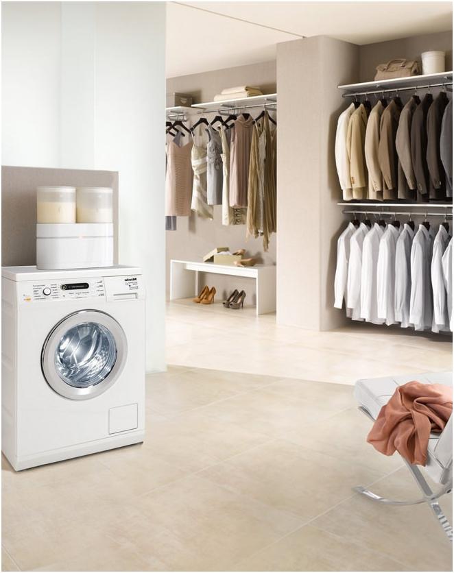къде да поставите пералнята